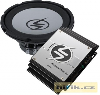 Set  Lightning Audio a subwoofer 25 cm