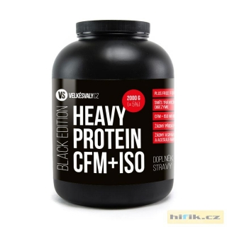 BLACK EDITION - HEAVY PROTEIN CFM+ISO 2000g